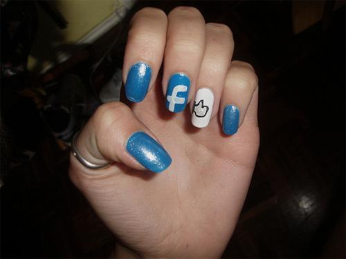10 mẫu sơn móng tay cho dân 'nghiện' mạng xã hội