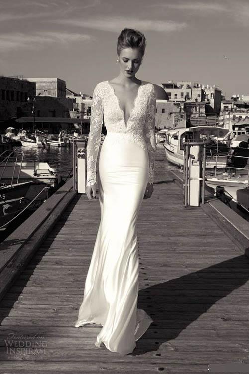 Chọn váy cưới đẹp, ấm cho cô dâu mùa đông - 9