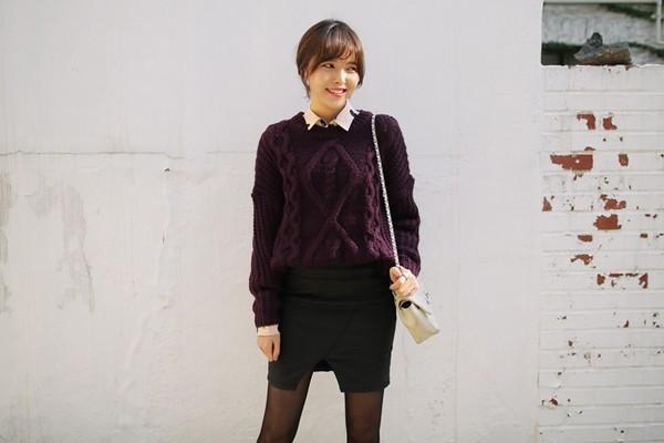 Tư vấn cách chọn và mặc áo len thật chuẩn cho nàng siêu gầy 11