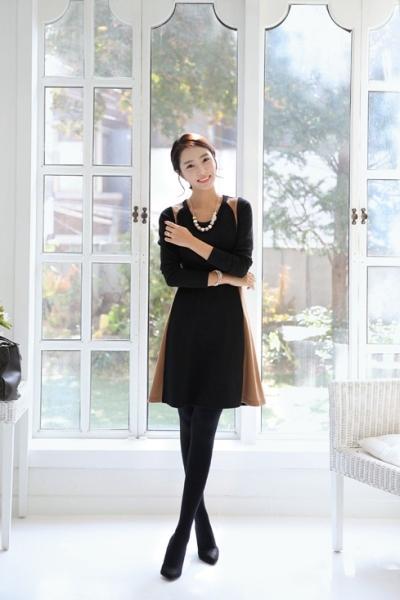 Các mẫu váy xòe công sở đẹp mùa đông 2013