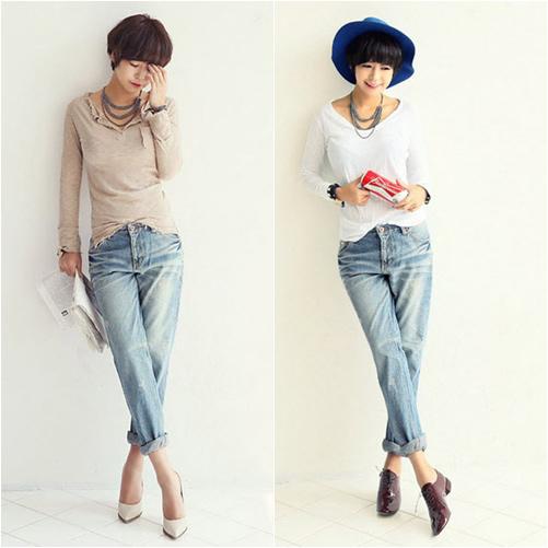 'Chất lừ' với quần jeans dáng thụng - 11
