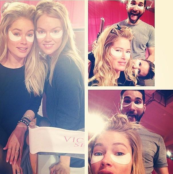 Đột nhập phòng casting của Victoria's Secret Show 2013