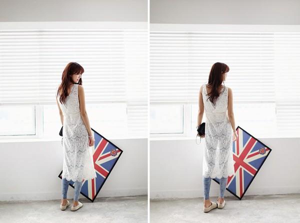 Tips mặc váy ngày nắng nóng cho những cô nàng... chân cong 3