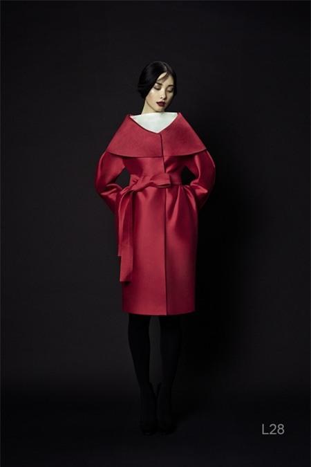 Áo khoác màu nổi làm ấm mùa Noel 2013 5
