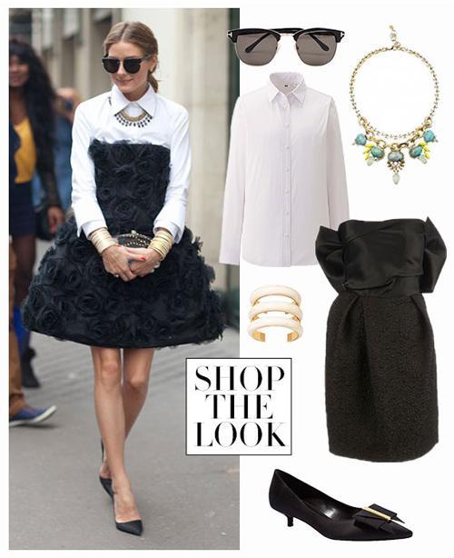7 cách làm mới sơ mi trắng như fashionista