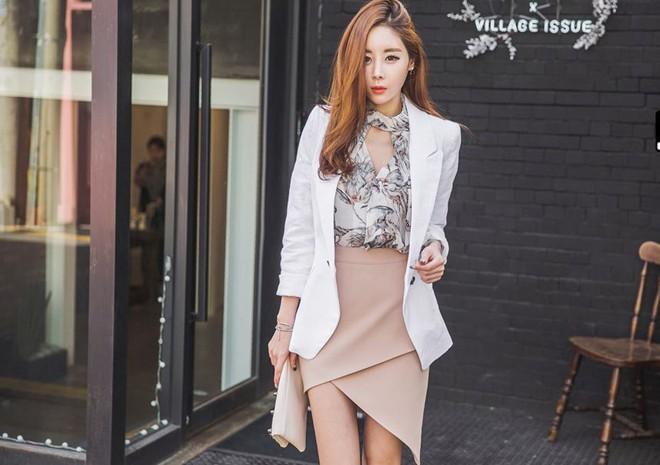 5 kiểu chân váy công sở quyến rũ trong ngày nắng