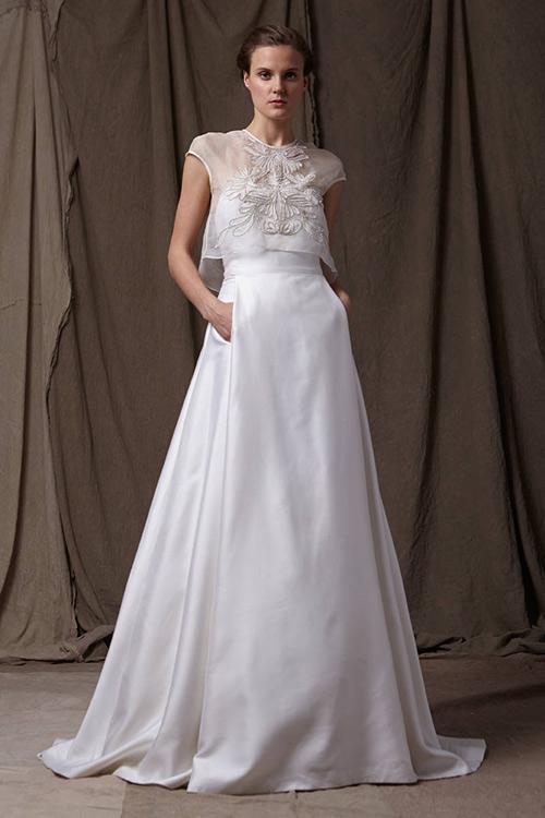 11 mẫu váy cưới thanh lịch khó lỗi mốt - 5