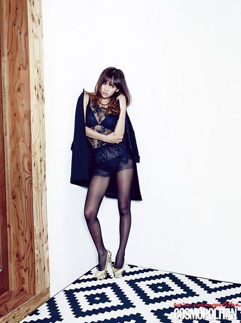 Nữ hoàng sexy xứ Hàn khoe nội y nóng bỏng trên Cosmopolitan