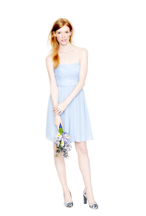 Xu hướng váy phù dâu tone màu pastel 2014 16