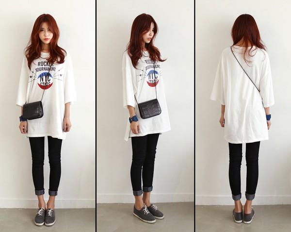 10 cách mix sáng tạo và trendy với áo phông oversized cá tính 2