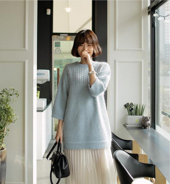 4 màu áo len gam pastel không thể thiếu của mùa đông 11