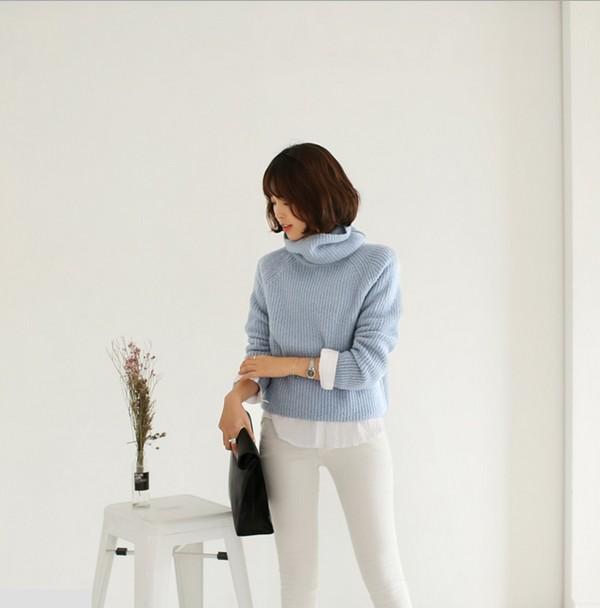 4 màu áo len gam pastel không thể thiếu của mùa đông 10