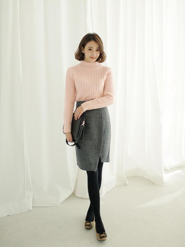 Tư vấn cách chọn và mặc áo len thật chuẩn cho nàng siêu gầy 4