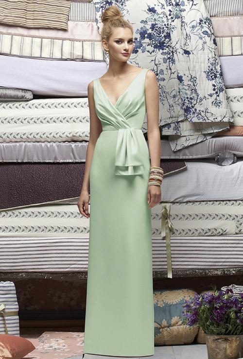 Xu hướng váy phù dâu tone màu pastel 2014 13