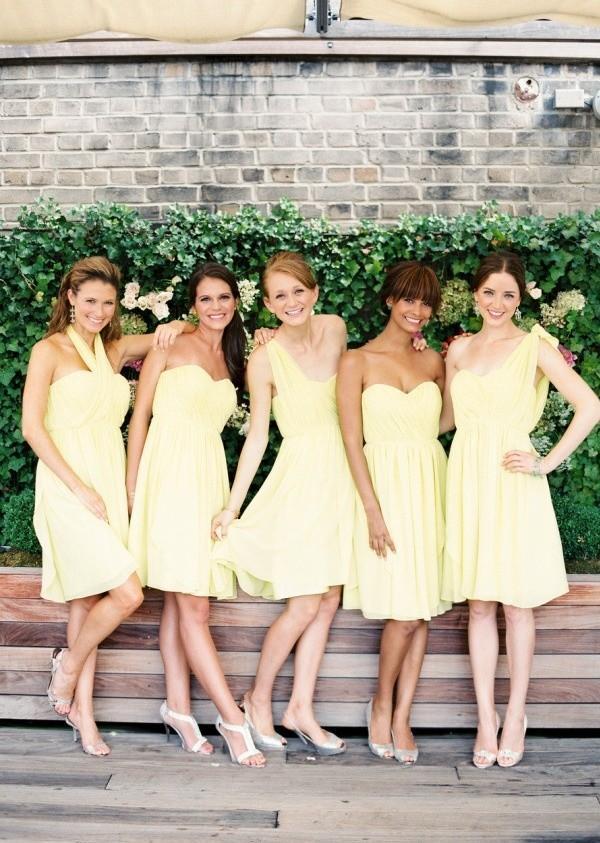 Xu hướng váy phù dâu tone màu pastel 2014 22