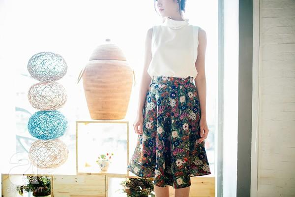 Cả tuần mặc đẹp với chân váy công sở tôn dáng, thanh lịch 13