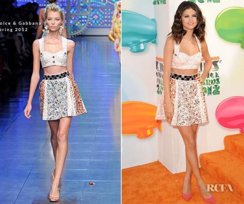 Selena Gomez - người đẹp nghiện crop top