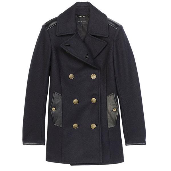 Những chiếc Pea Coat đáng yêu cho ngày lạnh