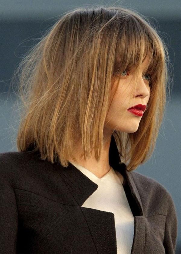 Hướng dẫn cách khắc phục lọn tóc con và tạo mái thưa hợp Guu
