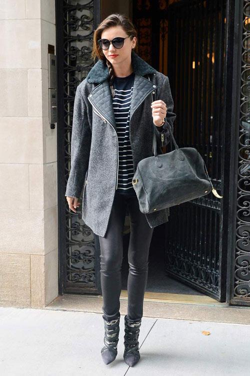 Chọn áo khoác mùa đông chuẩn như Miranda Kerr - 15