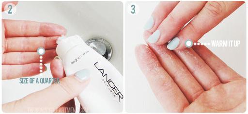 Học cách dùng sữa rửa mặt và thoa kem dưỡng đúng cách