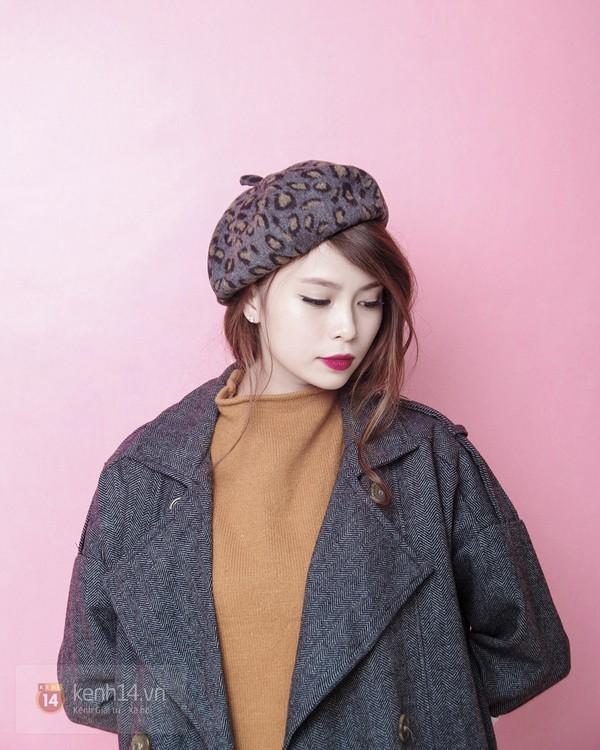 Tạo ra 4 phong cách khác biệt chỉ với 1 chiếc áo khoác mùa đông 9