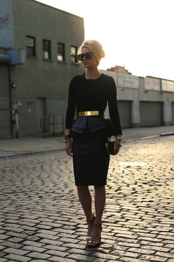 7 cách đơn giản khiến chiếc váy đen thêm bắt mắt 19