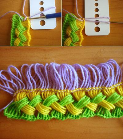 Học móc khăn len đơn giản cho những ngày trở lạnh 7