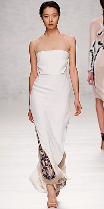 15 thiết kế hiện đại cho cô dâu 2013