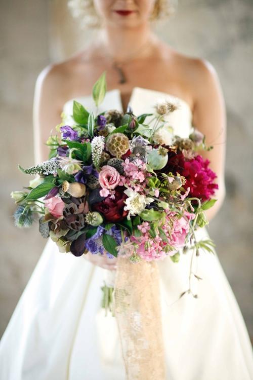 Chọn hoa tone ấm áp cho đám cưới mùa lạnh 15
