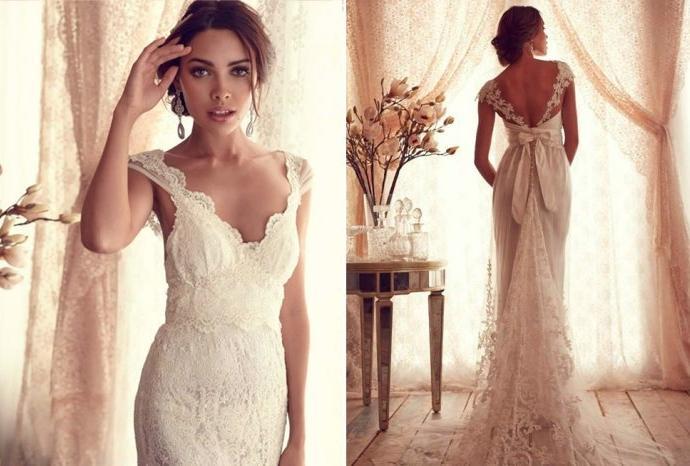 Những lý do cô dâu nên chọn váy Vintage