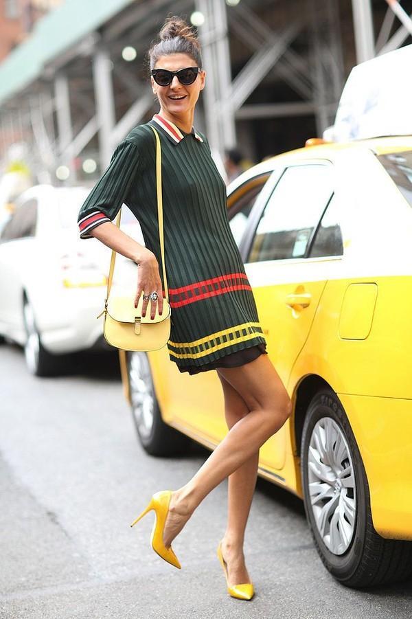 6 gợi ý vận dụng màu sắc dễ đẹp cho mùa thời trang 2015 13
