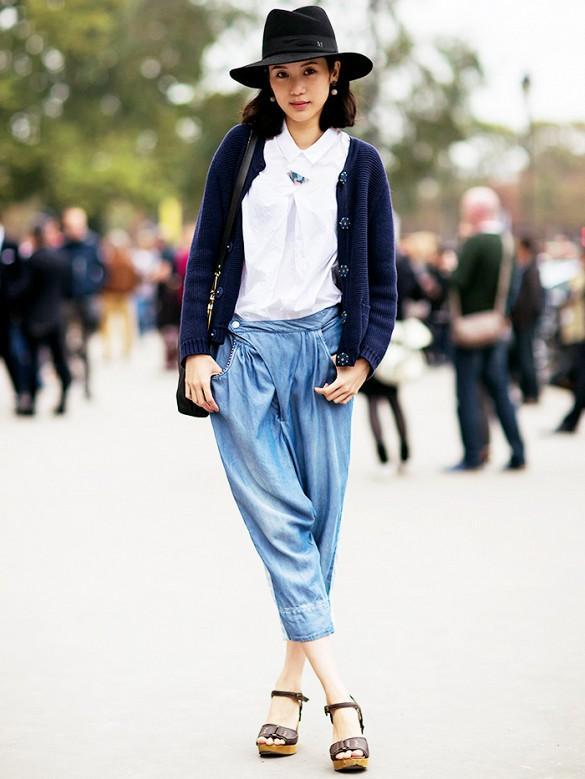 Gợi ý nhiều cách mặc cardigan ngày thu cho phái đẹp 11