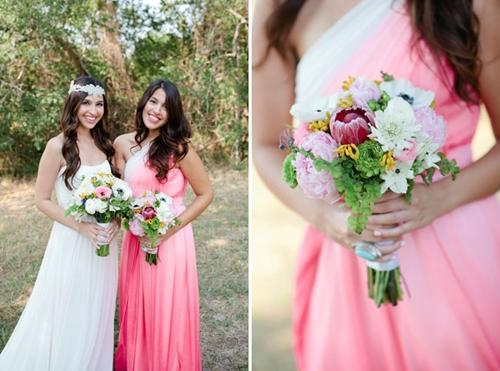 7 gợi ý váy phù dâu thời trang và nhã nhặn 20