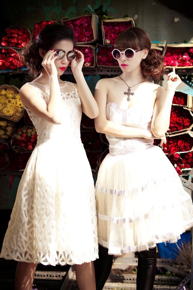 Cá tính cùng Phương Bella và Ngọc Thảo trong 'Tiệm bánh hoàng tử bé'