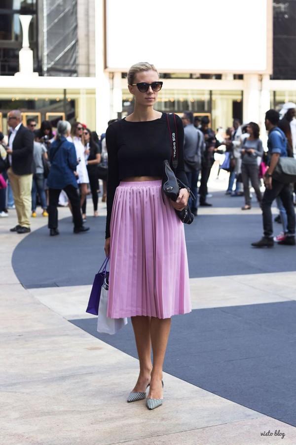 10 chiếc chân váy hè quen thuộc của phái đẹp 15