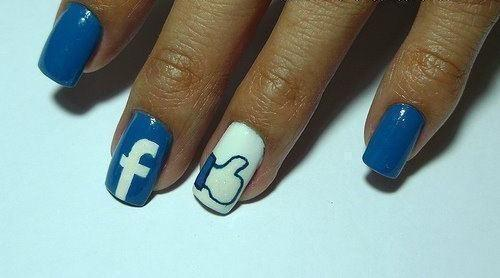 10 mẫu móng cho dân 'nghiện' mạng xã hội