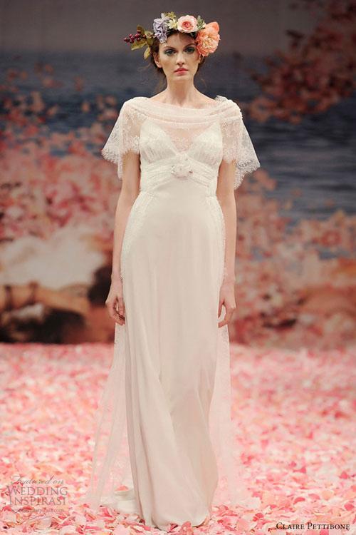 Ngắm vườn địa đàng trên váy cưới nàng