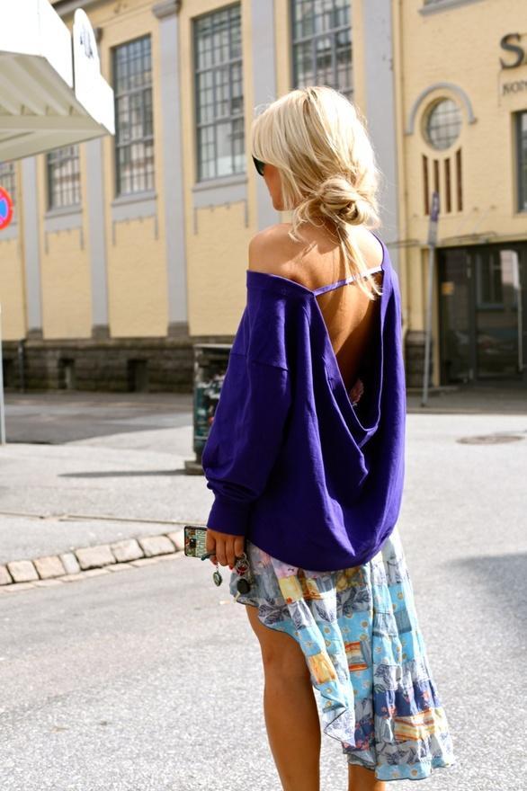 4 kiểu váy - áo hở lưng gợi cảm nhất mùa hè