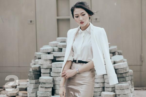 Trở lại làm việc với cả tuần mặc đẹp & phong cách cùng sơmi trắng 10