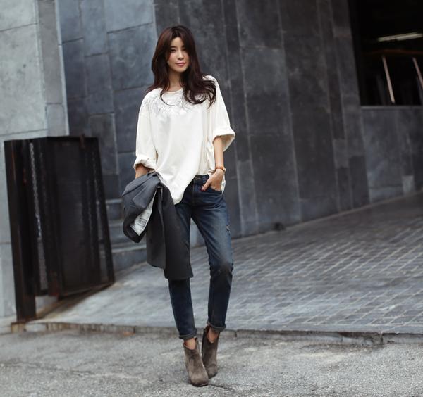 Cách chọn và kết hợp quần jeans với giày hợp từng dáng chân 11