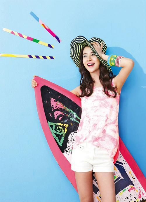 Song Ji Hyo đẹp rực rỡ mùa hè