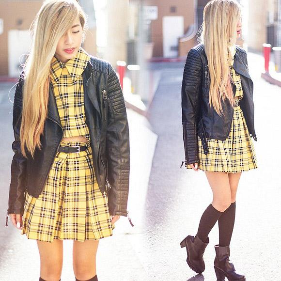 Street style tràn ngập váy ngắn của bạn trẻ thế giới