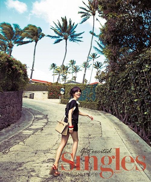 Lee Bo Young đẹp ngọt ngào trong nắng Hawaii