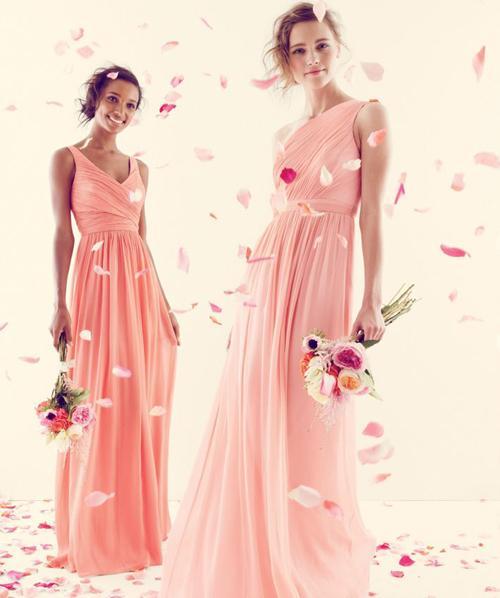 Xu hướng váy phù dâu tone màu pastel 2014 6