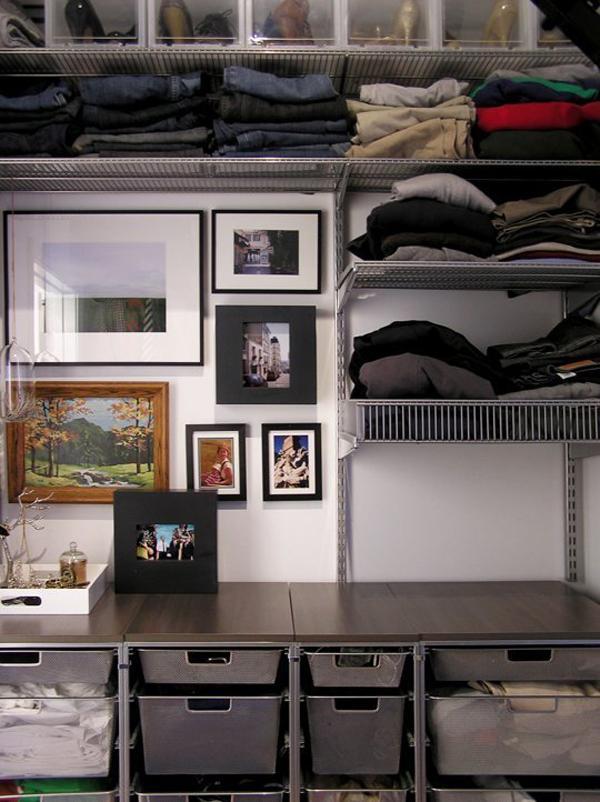 """10 bí kíp để tránh tủ quần áo bị """"quá tải"""""""