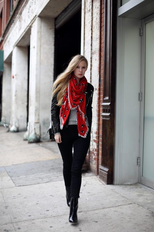 Street style ấm áp và cá tính của châu Âu ngày đầu đông 10