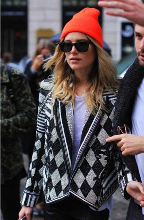 Các mẫu mũ len đẹp ấm áp vào mùa thu đông