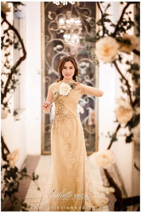 Áo dài cưới tuyệt đẹp cho cô dâu 2013.