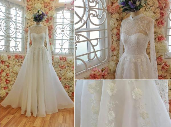 Nhà thiết kế dự đoán xu hướng váy cưới 2014